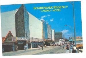 Boardwalk view of the recently opened Boardwalk Regency, Casino and hotel, ...