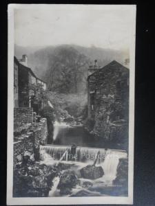Cumbria: The Old Mill, Ambleside c1925 RP - The Lake District