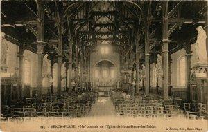 CPA Berck Plage- Nef centrale de l'Eglise de N.-D. des Sables FRANCE (908550)