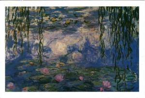 Nympheas by Claude Monet Art Painting Postcard 3