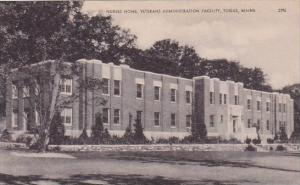 Maine Togus Nurses Home Veterans Administration Facility