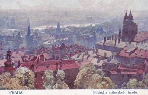PRAHA, Czech Republic; Pohled z kralovskeho hradu, 00-10s