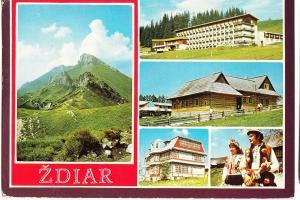 Slovakia, ZDIAR, used Postcard