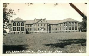 1946 Veterans Hospital Knoxville Iowa # 5340 RPPC Photo Postcard 4498