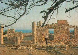 Cyprus Postcard - Temple of Apollo - Curium   RR9289