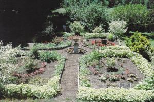 Victorian Garden Caprilands Coventry Connecticut