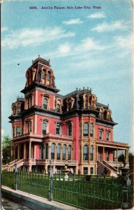 Postcard UT Utah Salt Lake City Amelia Palace Unposted