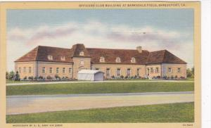 Louisiana Shreveport Officers Club Building At Barksdale Field Curteich
