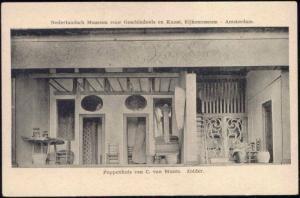 netherlands, AMSTERDAM, Dollhouse Doll Attic (1910s)
