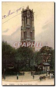 Paris - 4 - 1905 - Tour Saint Jacques - Old Postcard