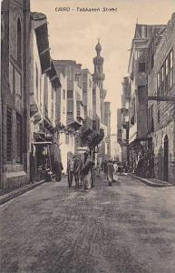 Tabbaneh Street, Cairo, Egypt, Africa, 1900-1910s