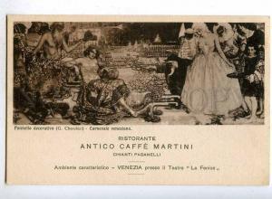 187554 ADVERTISING Restaurant ART NOUVEAU Carnival CHERUBINI