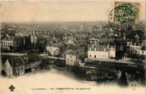 CPA Loir-et-CHER - ROMORANTIN Vue générale (253377)