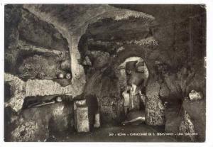 RP, Catacombe Di S. Sebastiano- Una Galleria, Roma (Lazio), Italy, 1930-50s