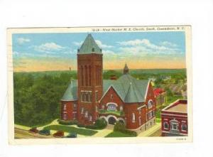West Market M.E. Church, South, Greensboro, North Carolina, PU-1946