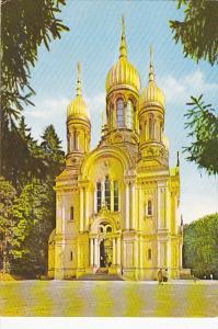 Grieschische Kapelle auf dem Neroberg Wiesbaden Germany