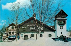 Frankenmuth Michigan~Frankenmuth Bavarian Inn~Cars Buried in Snow~1981 Postcard