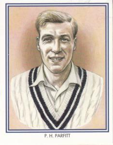PH Peter Parfitt Middlesex Cricket Club Cricketer Rare Cigarette Card