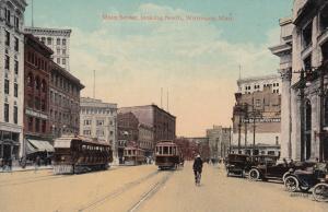 WINNIPEG , Manitoba , Canada , 1907 ; Main Street looking North
