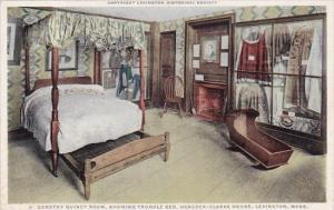 Massachusetts Lexington Dorothy Quincy Room Showing Trundle Bed Hancock Clark...