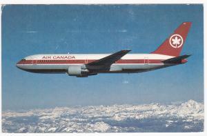 Airplane Jet- Air Canada, Boeing 767, PU-1984