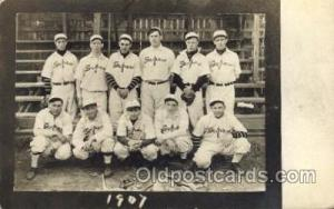 Depew, NY? USA Base Ball Baseball Real Photo Postcards Post Card  Depew, NY? USA