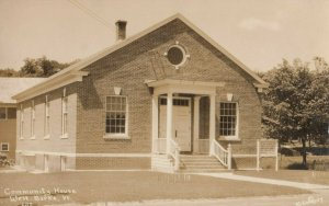 RP: WEST BURKE , Vermont, 1927 ; Community House