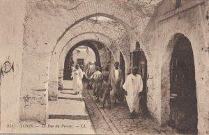 TUNIS, Tunisia, 1900-10s; La Rue du Persan