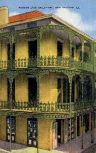 Famous Lace Grillwork New Orleans LA Unused