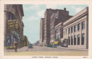 London Street, Pond's Rexall Drugs/Pharmacy, Windsor, Canada, 1910-1920s