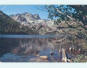 1980's SARDINE LAKE Sierra Buttes - Sierra City & Grass Valley CA F3921