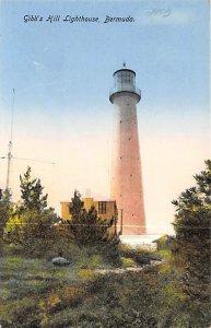 Bermuda Post card Old Vintage Antique Postcard Gibbs Hill Lighthouse Unused