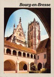 France Bourg en Bresse L'Eglise de Brou Church Tower Postcard