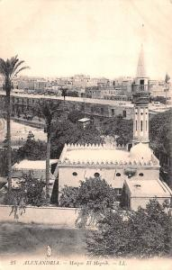 Alexandria Egypt, Egypte, Africa Mosque El Megrib Alexandria Mosque El Megrib