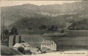 CPA Les Rochers du Mont-d'Or (1115563)