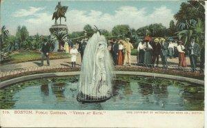 Boston, Mass., Public Gardens, Venus at Bath