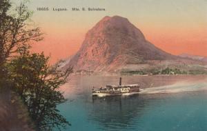 Switzerland, Suisse, Lugano, Mte. S. Salvatore, early 1900s unused Postcard