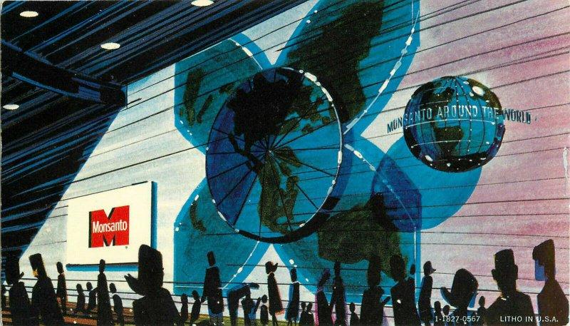 Postcard The World Clock, Monsanto