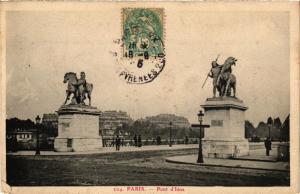 CPA PARIS 7e-Pont d'Iéna (327460)