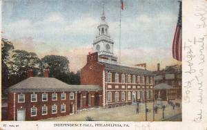 Independence Hall, Philadelphia, Pennsylvania, Early Postcard, Used