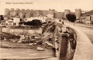 CPA Avila Puente Adaja y Murallas SPAIN (744132)