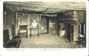 Shakespeare's House, Birth Room Stratford-on-Avon UK, England, Great Britain ...