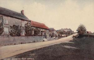 Danby Yorkshire Village Post Office Antique Postcard