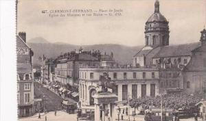 France Clermont Ferrand Place de Jaude Eglise des Minimes et rue Blatin