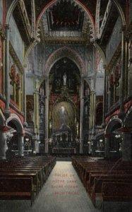 MONTREAL, Quebec, Canada, 1900-10s; Eglise De Notre Dame, Sacre Coeur