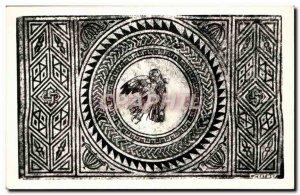Old Postcard Mosaic Bignor
