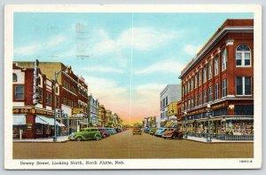 North Platte Nebraska~Dewey Street~O'Connor Drug~Variety Store Window~1950 Linen