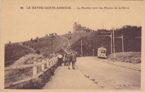LE HAVRE-SAINTE-ADRESSE , France , 00-10s ; La Montee vers les Phares de la Heve