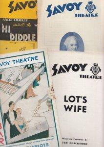 Lots Wife Hi Diddle Diddle Wonder Bar Musical 4x Savoy London Theatre Program...