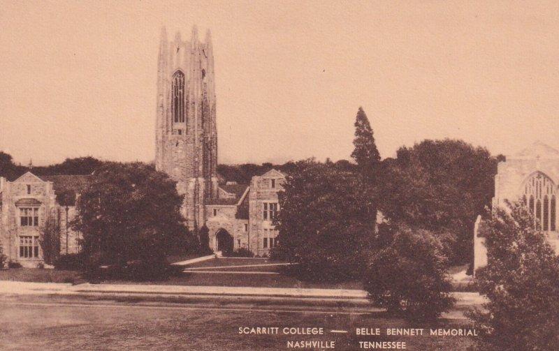 Scarritt College, Belle Bennett Memorial, NASHVILLE, Tennessee, 1900-1910's